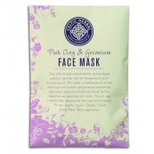 Pink Clay and Geranium Face Mask 55g