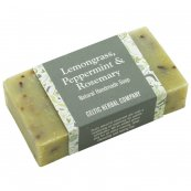 Lemongrass, Peppermint and Rosemary Soap 110g