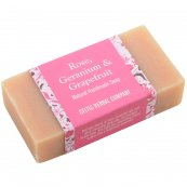 Rose, Geranium and Grapefruit Soap 110g